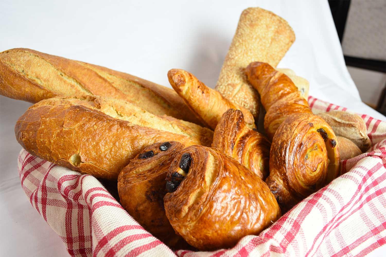 シャトーブラン社のパン